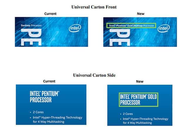 Intel Pentium Gold Kaby-Lake