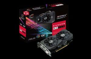 ASUS, svela una nuova Custom rx 560: la Radeon RX 560 EVO. Una personalizzazione RX 560 ROG Strix. asus RX 560 evo. AMD rx 560