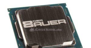 intel i7 8700K heatspreader in ARGENTO i7 8700k in argento