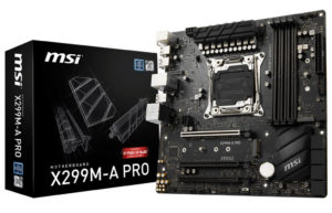 X299M-A Pro micro-ATX MSI