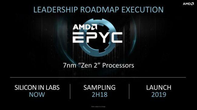 AMD EPYC e Vega basati su architettura a 7nm