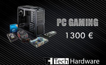 Configurazione PC Gaming 1300 euro