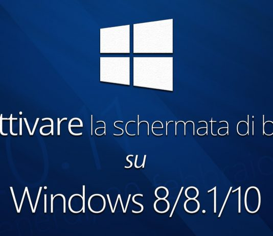 disabilitare la schermata di blocco di Windows